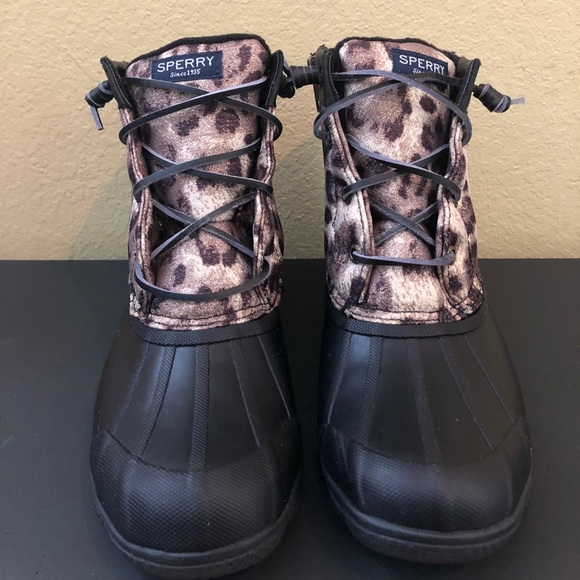 sperry duck boots sparkle